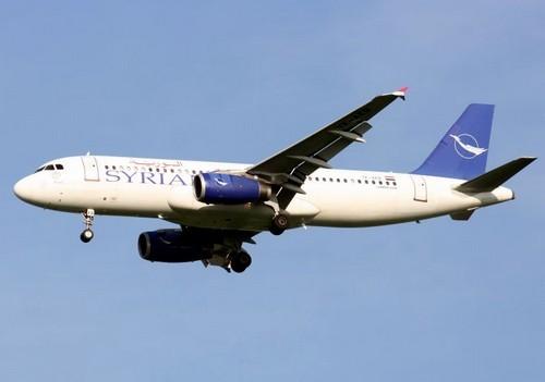 самолет Syrian Air